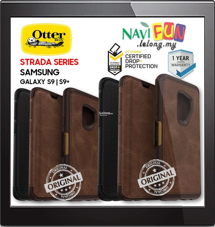 the latest 9fd58 128e8 ★ OtterBox Strada Folio Premium case Samsung S9 S9+ Plus