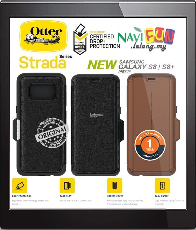 quality design 36725 404ac ★ OtterBox Strada Leather Folio Case for Samsung S8 | S8+ Plus