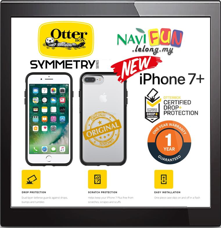 san francisco 56847 a3c71 ★ OtterBox Symmetry Clear case for Apple iPhone 7 / 8 Plus