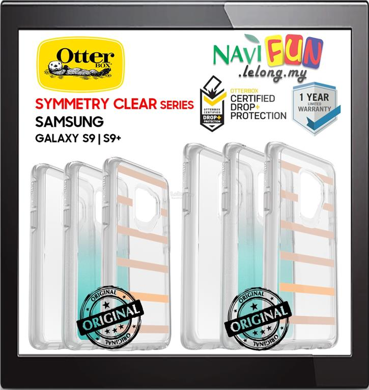 ★ OtterBox Symmetry Clear Graphics Case Samsung S9 S9+ Plus