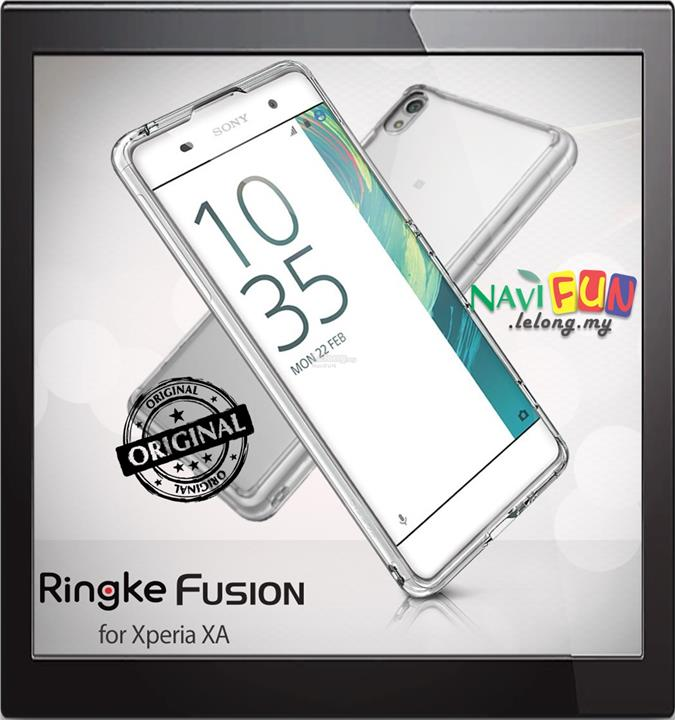 new arrival ea7da ca14d ★ Rearth Ringke Fusion TPU Case for Sony Xperia XA
