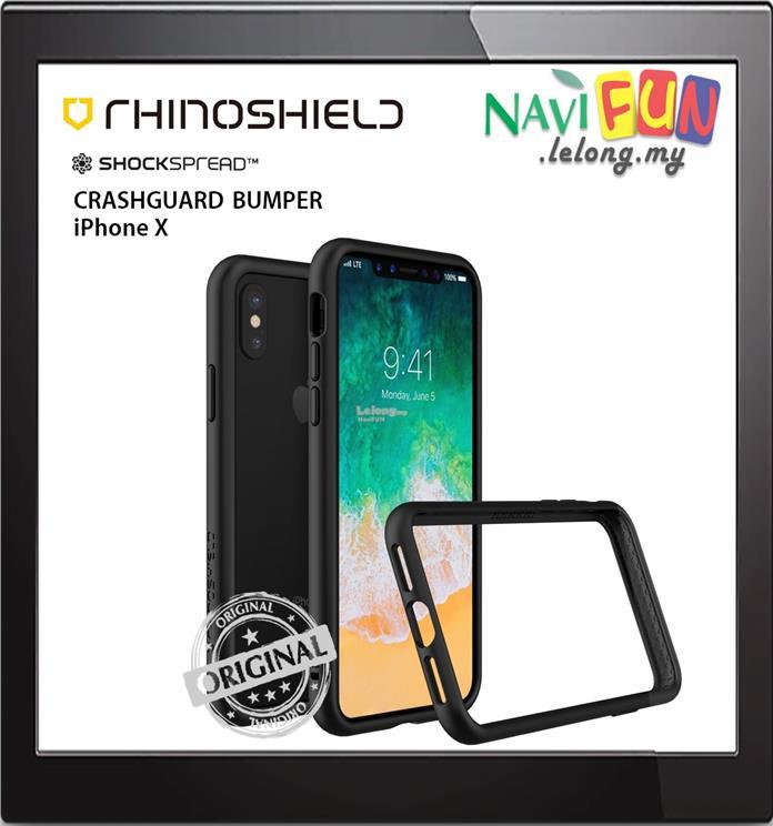 premium selection 1f1d6 b7e73 ★ RhinoShield Crash Guard Bumper case Apple iPhone X