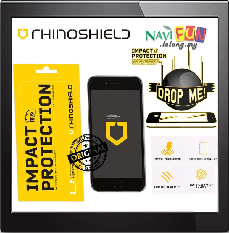 ★ RhinoShield Impact Protection Screen Protector iPhone 7 7 Plus