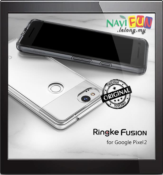 new styles 354a1 4ef9f ★ Ringke FUSION PC back TPU case Google Pixel 2 (2017)