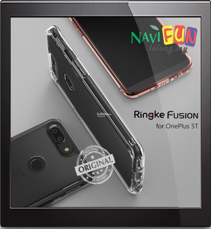 ★ Ringke FUSION PC back TPU case OnePlus 5T
