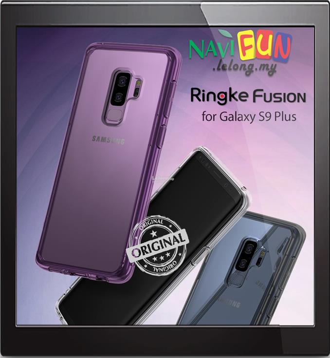 ★ Ringke Fusion TPU+PC case Samsung GALAXY S9+ Plus