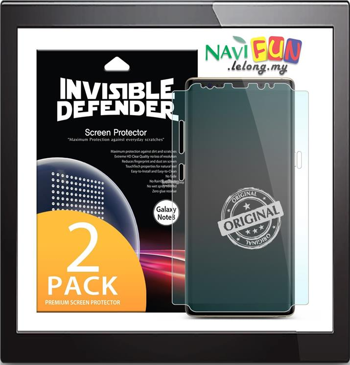 designer fashion 8bbfb 2e0a0 ★ Ringke Invisible Defender Screen Protector GALAXY Note 8