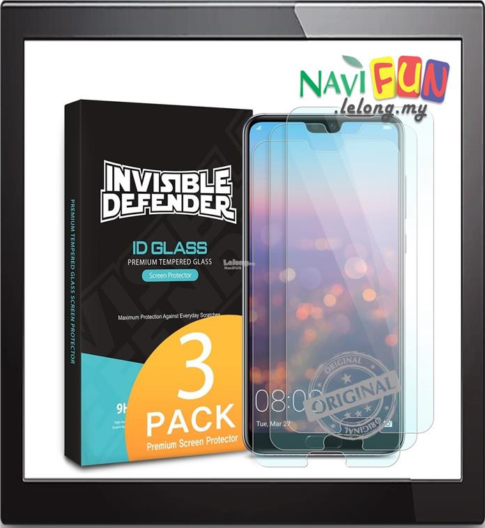 ★ Ringke Invisible Defender Tempered Glass Huawei P20 | P20 Pro