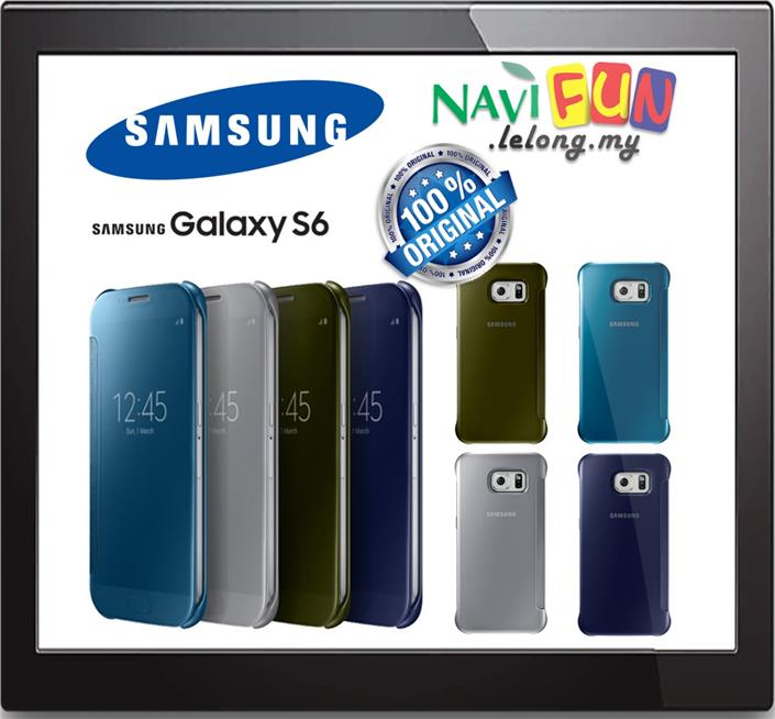 wholesale dealer 38d56 675d8 ★ Samsung Clear View Cover for Samsung Galaxy S6