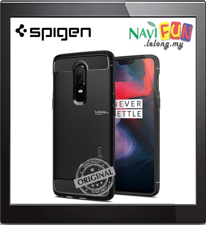 sneakers for cheap 36fca 4a6fc ★ SPIGEN (Ori) Rugged Armor case for OnePlus 6   Avenger