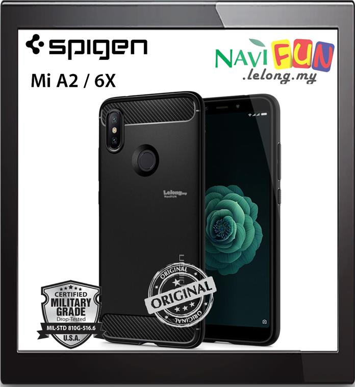 on sale 7202a 589dd ★ SPIGEN (Ori) Rugged Armor case for Xiaomi Mi A2 / 6X