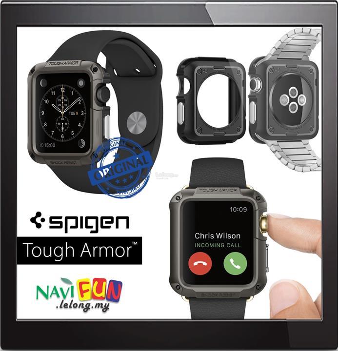the best attitude a6572 e2f71 ★ Spigen (Ori) Tough Armor Apple Watch 1 & 2 (42mm) Case