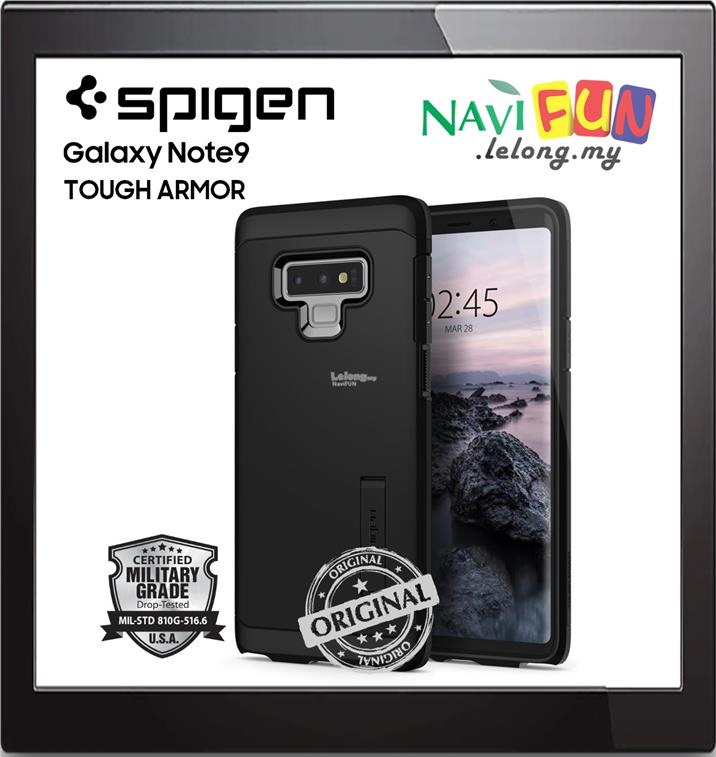 best website 98fc6 f8aea ★ SPIGEN (Ori) Tough Armor case for Samsung GALAXY Note 9