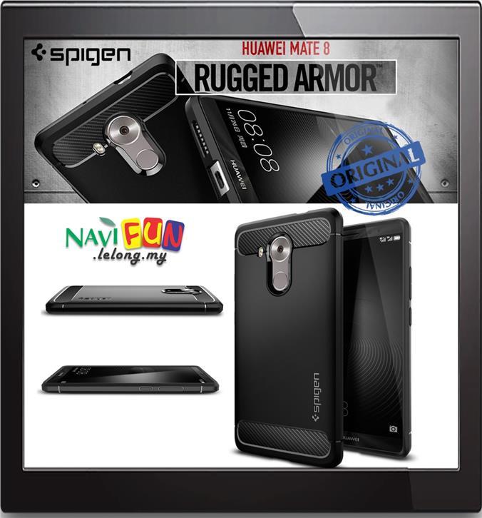 new style b602f 7ad5d ★ Spigen Rugged Armor case for Huawei Mate 8 [Matte TPU]