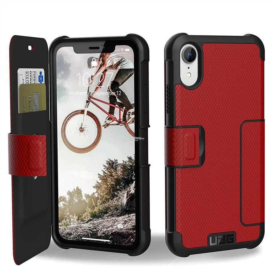 "finest selection 55b80 237bc ★ UAG (ORI) Metropolis Flip case for Apple iPhone XR (6.1"")"