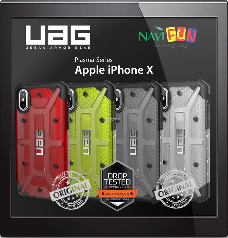 low priced b9eb8 476e8 ★ UAG (ORI) Plasma case for Apple iPhone X & XS