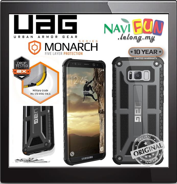 super popular dbfe4 fa2fe ★ Urban Armor Gear UAG Monarch Case Samusng S8 Plus