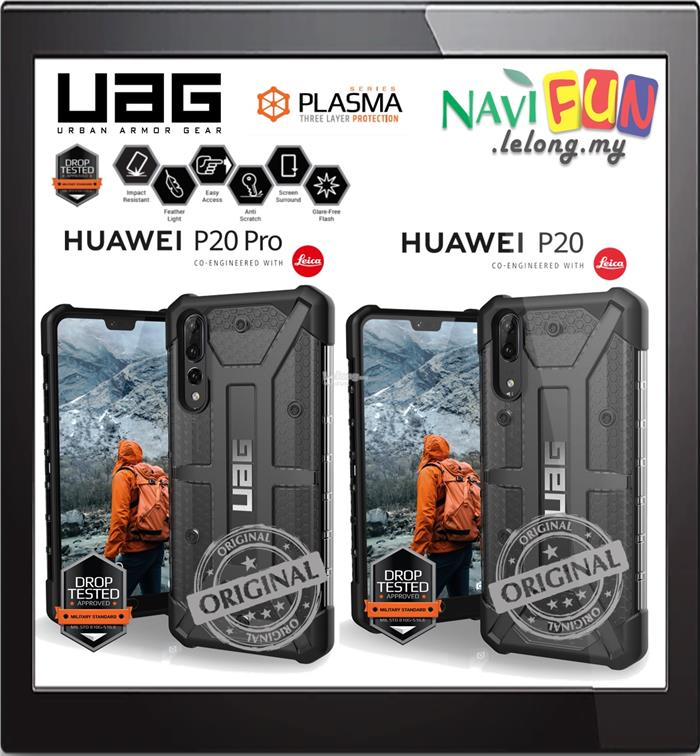 sports shoes a36a6 101f6 ★ Urban Armor Gear UAG Plasma Cases Huawei P20 | P20 Pro [ASH]