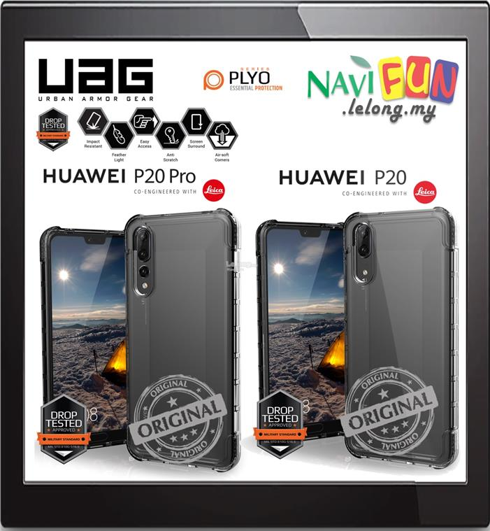★ Urban Armor Gear UAG Plyo Cases Huawei P20 / P20 Pro [ICE]