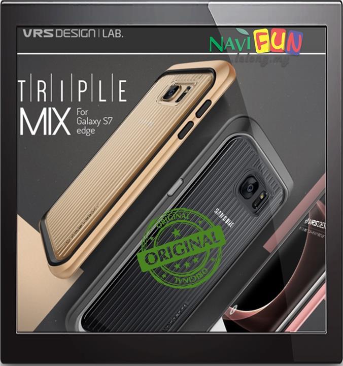 info for 1aa8b 0e9c7 ★ Verus VRS Design S7 Edge Case - Triple Mixx [Clear Back]
