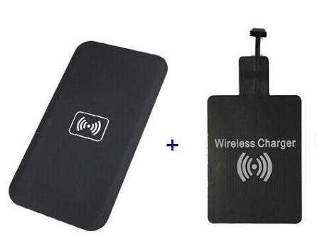 ★ Wireless Charger Pad + Receiver For Charging Smart Phone  (WP-..