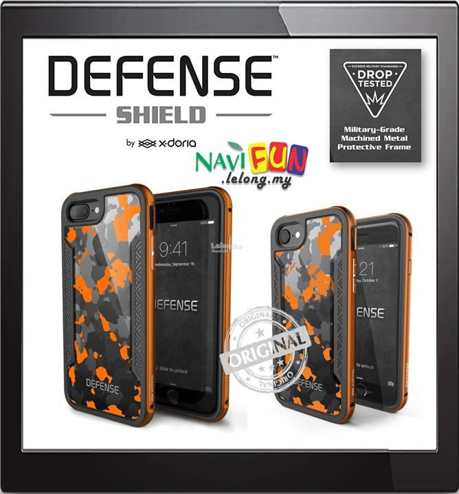 timeless design cf0c6 99451 ★ X-Doria Defense Shield Camo Design case iPhone 7/ 8 / 7/ 8 Plu