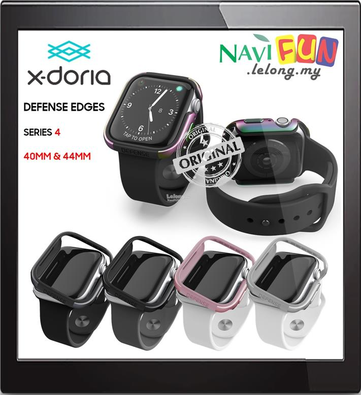 buy popular a17d6 7a446 ★ X-Doria (ORI) Defense Edge case Apple Watch Series 4 40 44mm