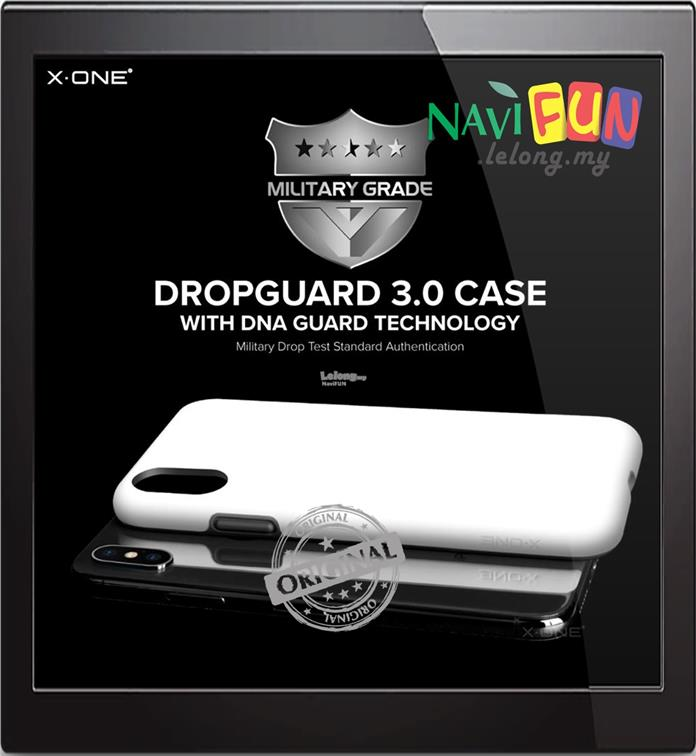 ★ X-One® DropGuard 3.0 Drop Tested case for Apple iPhone X / 10