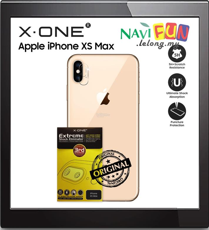★ X-One® Extreme Camera Protector Apple iPhone XS Max