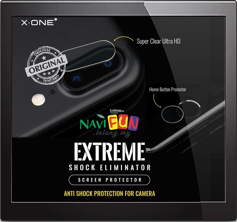 ★ X-One Extreme Camera Protector iPhone 7 / 8 / Plus
