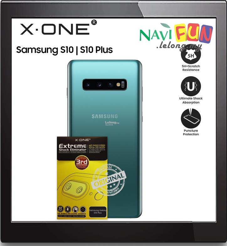 ★ X-One® Extreme Camera Protector Samsung S10 | S10 Plus