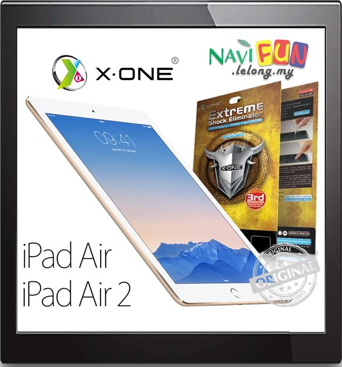★X-One Extreme Shock Eliminator Screen protector iPad Air 2 Pro