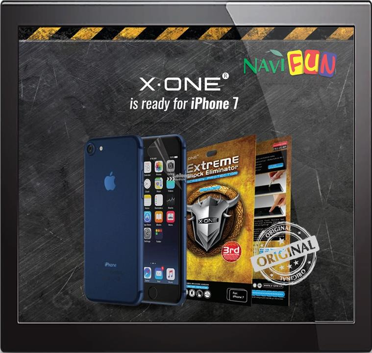 ★X-One Extreme Shock Eliminator Screen Protector iPhone 7 8 Plus