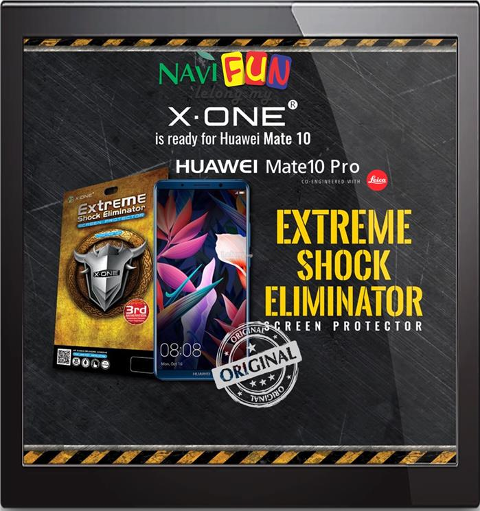 ★ X-One Extreme Shock Eliminator Screen Protector - Mate 10 Pro