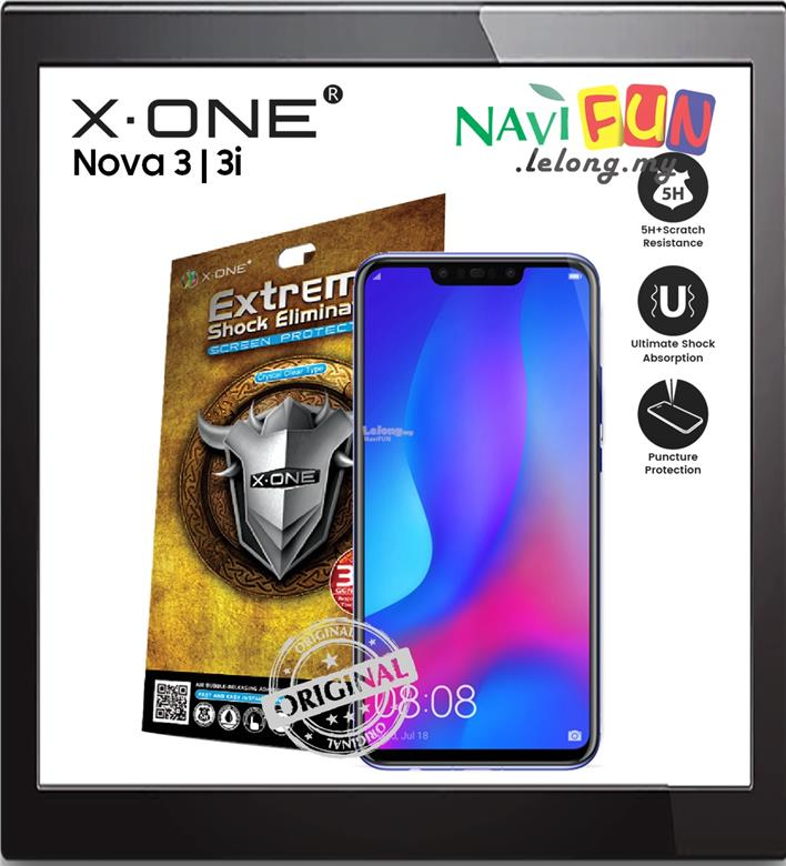 ★X-One Extreme Shock Eliminator Screen Protector Nova 3 | 3i