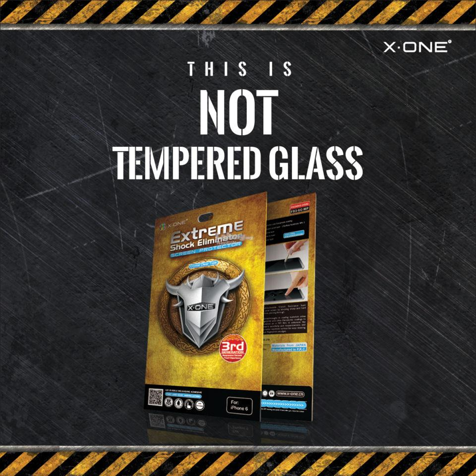 ★ X-One Extreme Shock Series Screen Protector OnePlus 7 One Plus