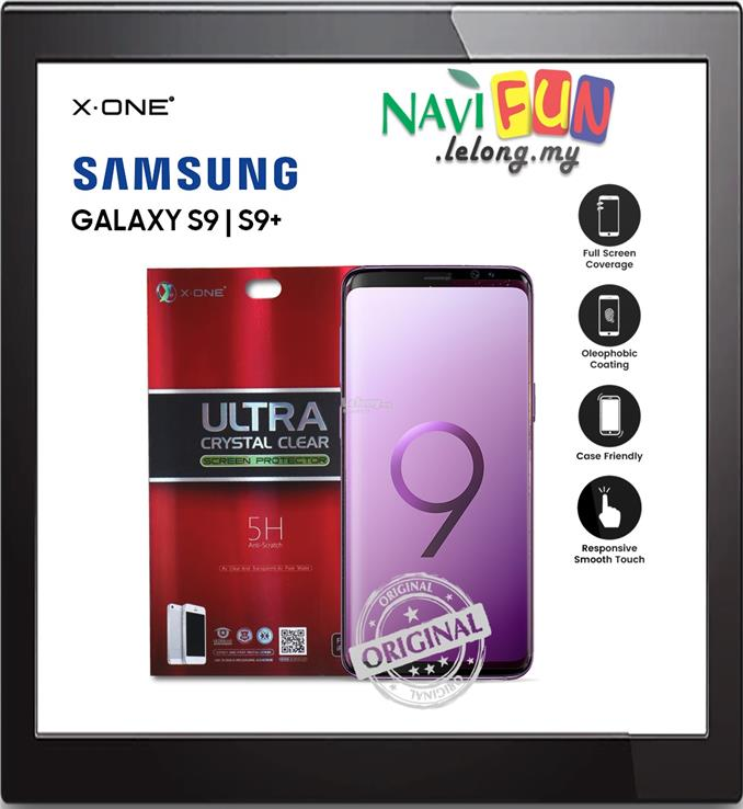 ★ X-One Seamless Case Friendly Screen Protector S9 S9+ Plus