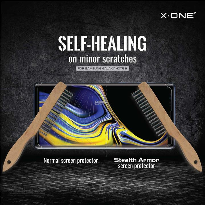 ★ X-One Stealth Armor Enhanced Screen Protector Samsung Note 9