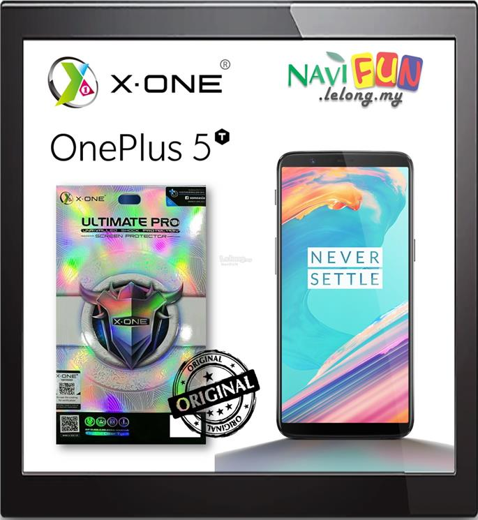 ★ X-One Ultimate Pro Screen Protector for One Plus 5T