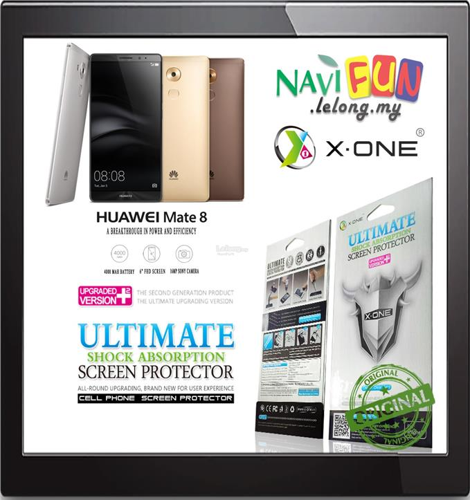 ★ X-One,Ultimate Shock Absorption Screen Protector Huawei Mate 8