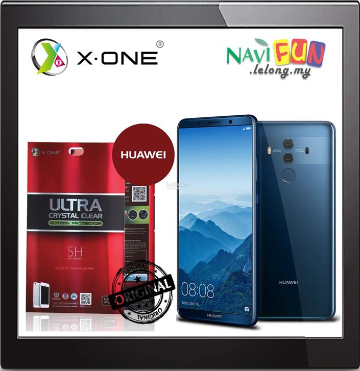 ★ X-One Ultra Crystal Clear Screen Protector Huawei Mate 10 Pro