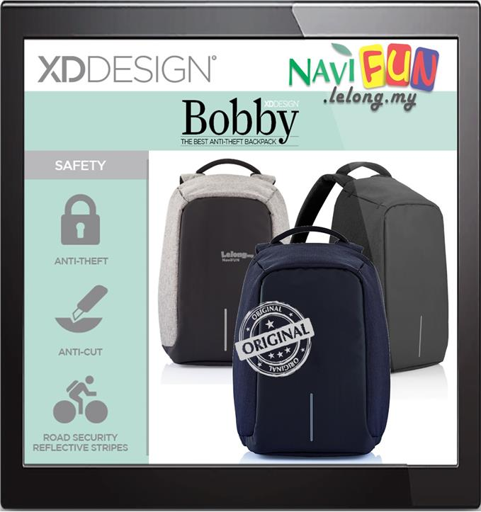 ★ XDDesign Bobby Bag Best anti-theft backpack 1 year warranty. ‹ ›