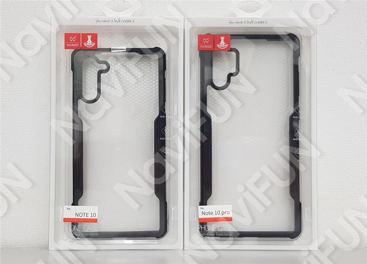 ★ XUNDD Beetle SGS Military Case Samsung Note 10 / 10 Plus