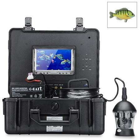 ☆ 360 Degree 300m Underwater Fishing Camera+Monitor (IPS-10B)