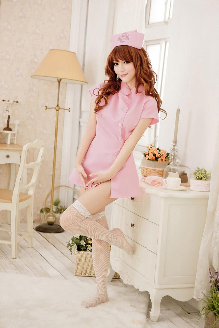 9771 SEXY NURSE SUIT UNIFORM COSPLAY SET