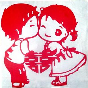 ♥Aza Aza♥ 'Hei' Loving Couple - Wedding sticker