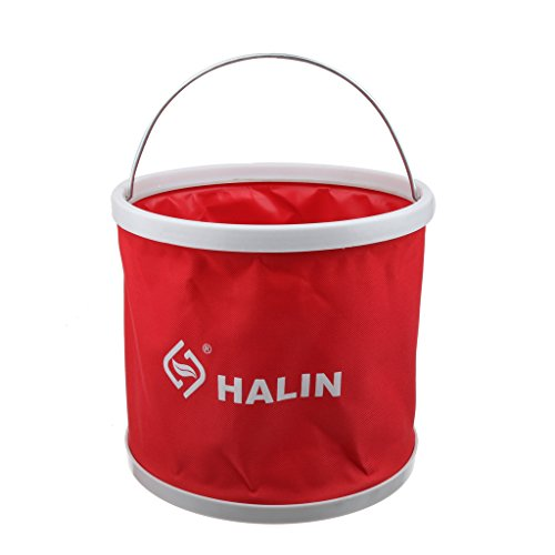 9L Outdoor Folding Collapsible Bucket Water Container