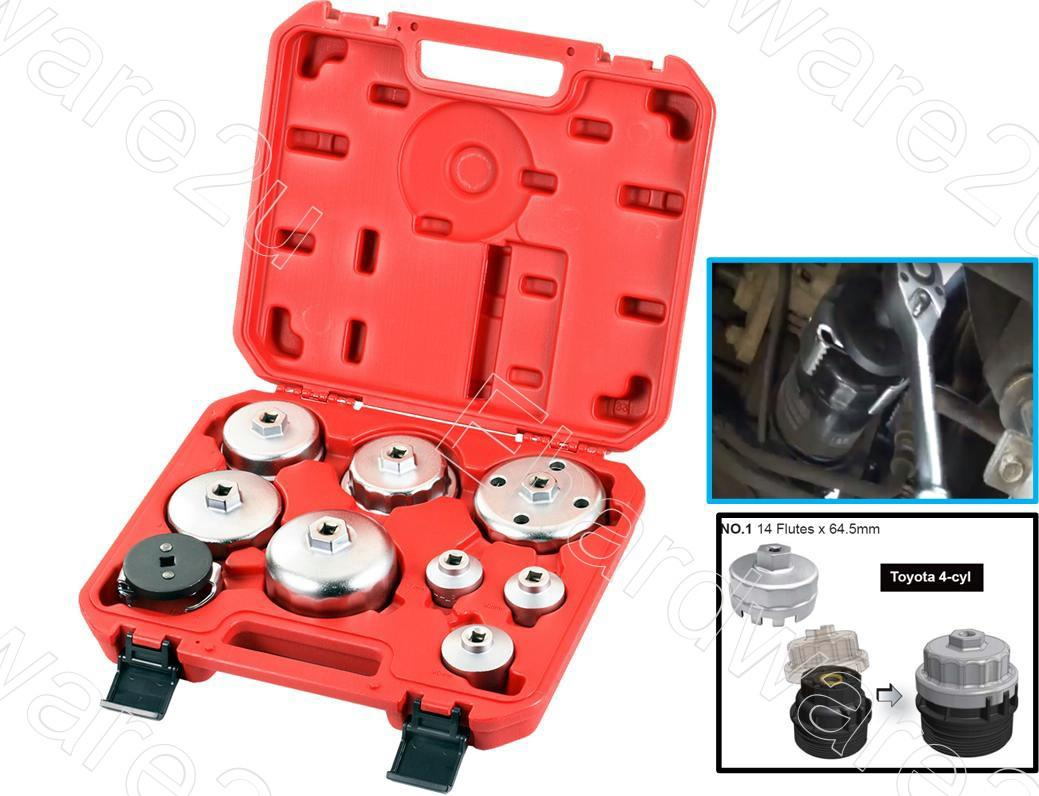 9pcs Comprehensive Special Oil Filte End 8 2019 1136 Pm Ford 7 3 Fuel Filter Wrench Cup Set Cfws09