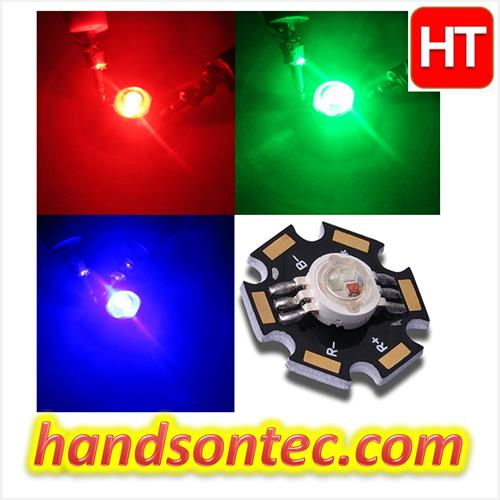 9W High Power RGB Full Color LED Module