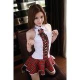 A092 SEXY SCHOOL UNIFORM COSPLAY-1unit